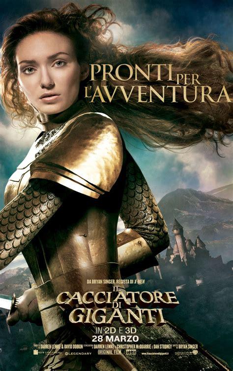 film fantasy nuovi il cacciatore di giganti i character poster e due nuovi