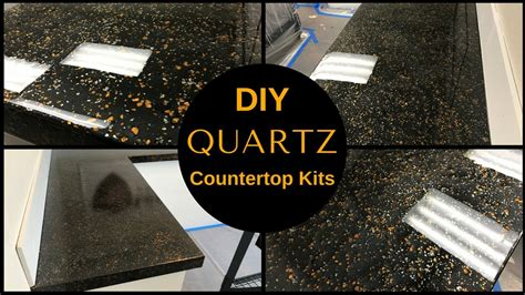 HOW TO: DIY Black Quartz Countertop Resurfacing Kits