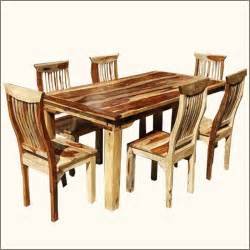 Dining Room Sets Real Wood Remarkable Real Wood Dining Room Sets Cool Interior