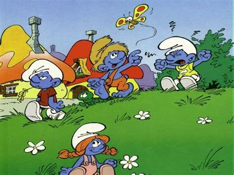 smurfs wallpaper smurfs wallpaper 251171 fanpop