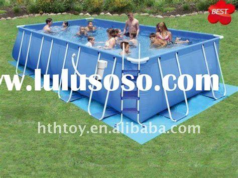 backyard ocean metal framed pools