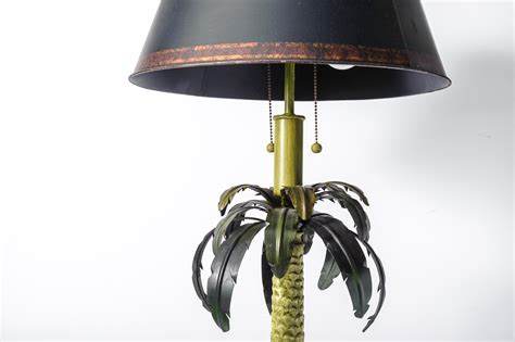 palm tree floor l lowes pair of tole palm tree floor ls with tole shades on