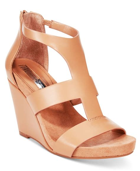 macy s basketball shoes inc international concepts s lilibeth wedge sandals