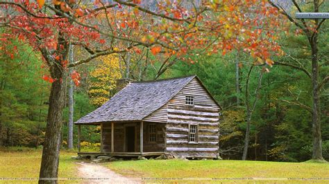 Cabin In The Woods Free by Smoky Mountain Winter Wallpaper 42 Images