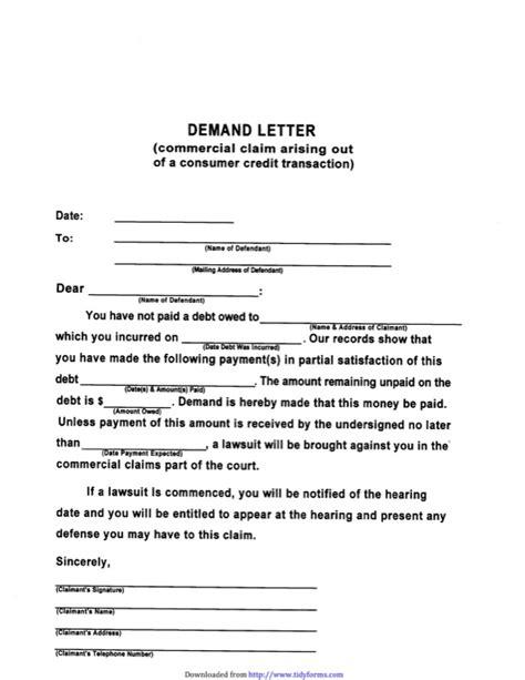 Demand Letter Malicious Prosecution sle demand letter for free tidyform