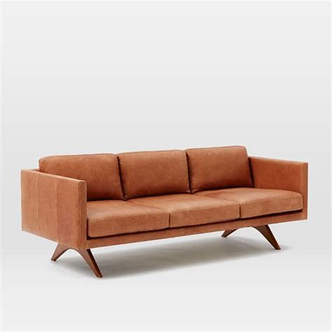 elm leather sofa leather sofa elm