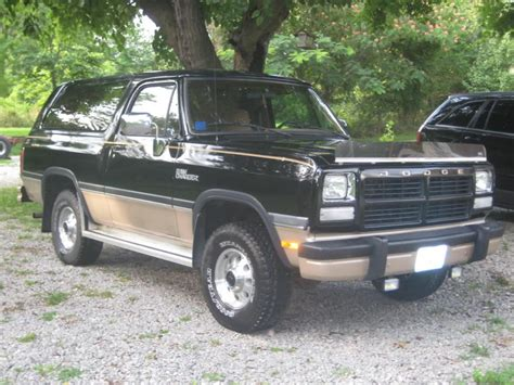 information of ram 1992 dodge ramcharger information and photos zombiedrive