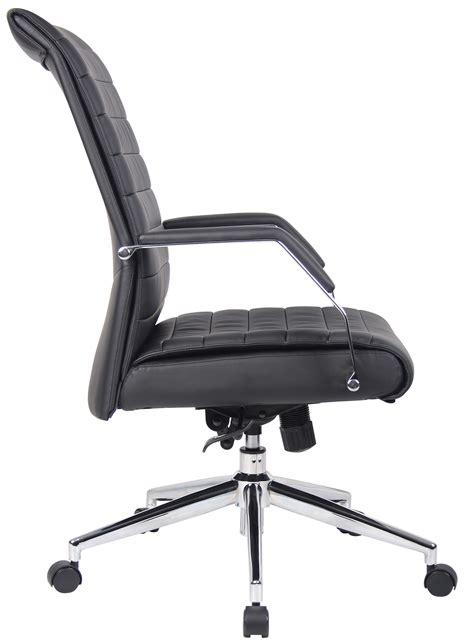 executive high back ribbed chair b9441