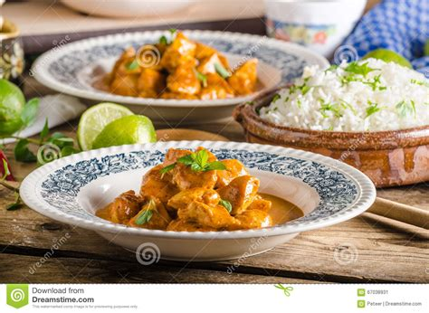 curry payment plan curry chicken with rice stock photo image 67038931
