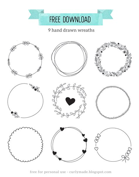 doodle free trial free wreaths curly made