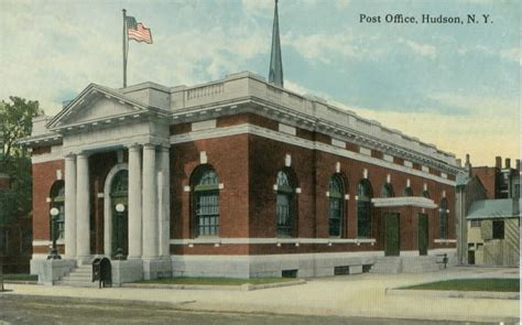 Columbia Post Office by Post Office Hudson Columbia County New York Usa