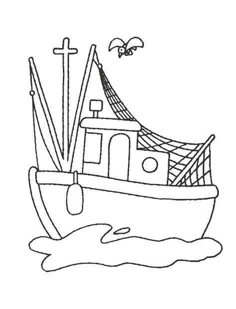 dessin anime bateau sur l eau dessins 224 colorier bateaux coloriages pour enfants