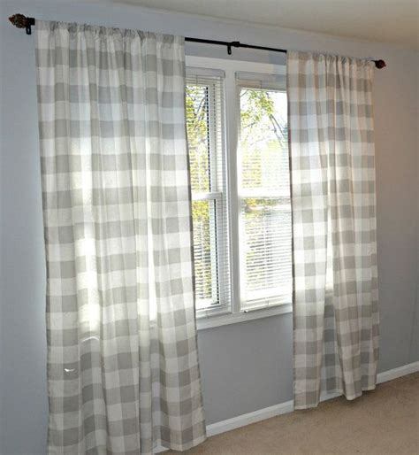 grey and white check curtains best 25 grey check curtains ideas on pinterest diy