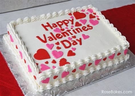 valentines day birthday cakes happy s day a simple valentines sheet cake
