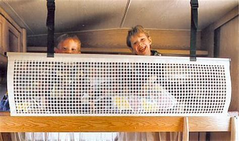 bunk bed safety net sturdy safety net for motorhomes and caravans suitable for