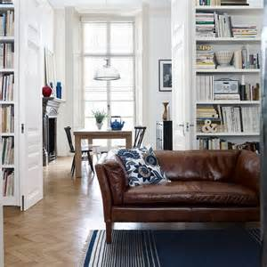 gray walls brown couch rugs pinterest brown leather