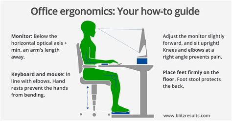 ergonomic sitting at desk ergonomic office calculate optimal height of the desk chair