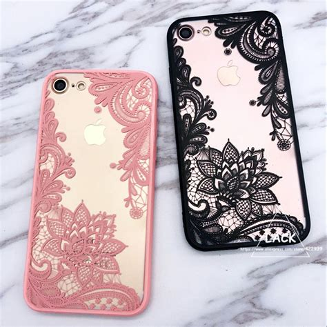 Top 7 Flower Accessories by Fashion Lace Floral For Iphone 7