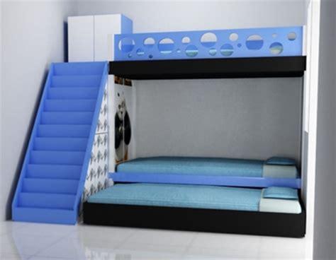 Kasur Dua Tingkat Desain Tempat Tidur Tingkat Minimalis Desain Rumah Minimalis Lengkap Modern Indah