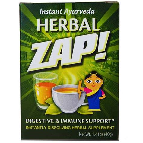 Detox Herbal Zap by Herbal Zap Digestive And Immune Support 10 Packets