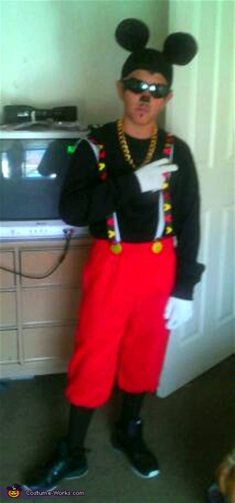 gangster mickey mouse costume