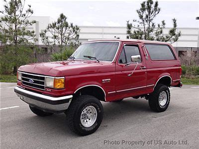 how cars run 1991 ford bronco seat position control 1991 ford bronco silver anniversary edition rare 5 8l v8 4x4 automatic leather