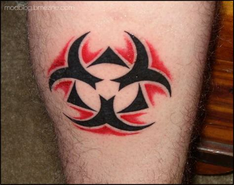 biohazard tattoo designs imaginative biohazard symbol design ideas tattoomagz