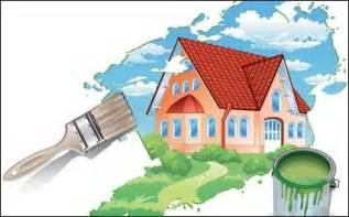 new painting free new house clipart clipart suggest
