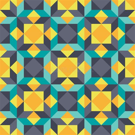 geometric element pattern abstract background geometric seamless vector pattern