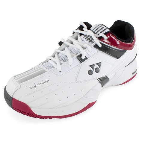 yonex unisex power cushn lt tnns shoes wh w rd