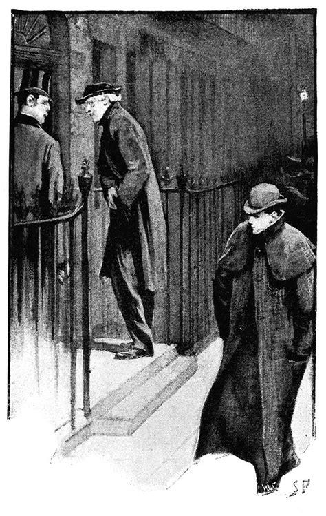 Good Night, Sherlock Holmes – Old Book Illustrations