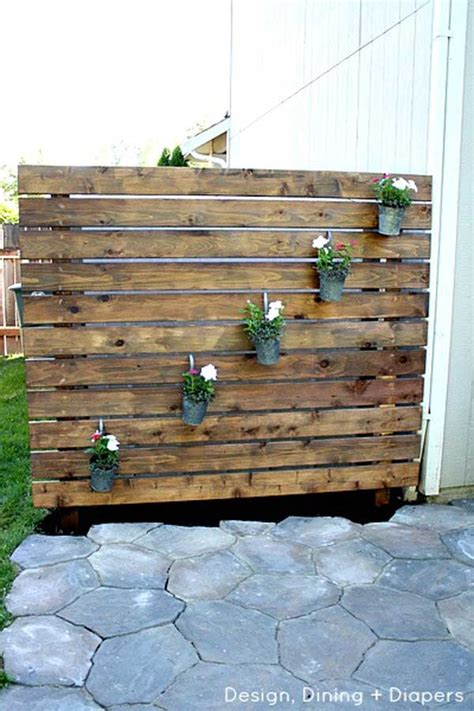 backyard privacy wall ideas 22 fascinating and low budget ideas for your yard and