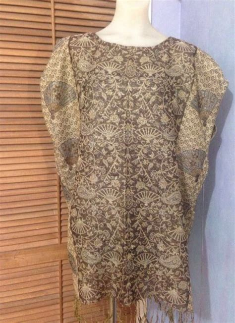 Pashmina Tunic gold fan pashmina tunic jannah road