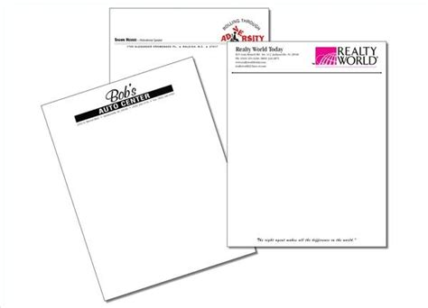 Business Letterhead Purpose How To Set Up A Business Letter On Company Letterhead Ehow