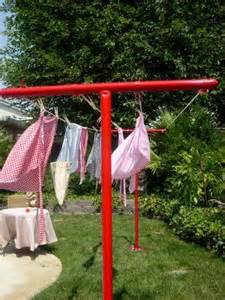 backyard clothesline 17 best ideas about clotheslines on clothes