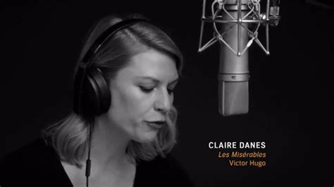 claire danes song audible tv commercial claire danes performs from