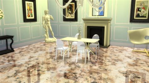 Ghost Furniture Update by The Ghost Chair At Meinkatz Creations 187 Sims 4