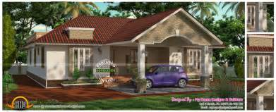 One Floor Homes by 3 Bedroom 2 Attached One Floor House Kerala Home Design