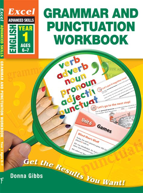 grammar and punctuation year 1407140744 excel advanced skills grammar and punctuation workbook year 1 pascal press