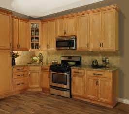 Maple Cabinet Kitchen Refinished Maple Cabinets To Decobizz