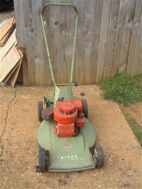 hayter kestrel petrol vintage push lawn mower sparesrepairs lawnmowers shop