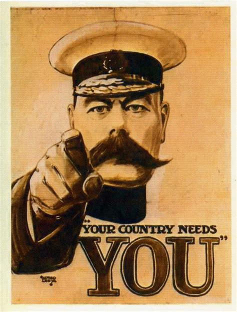 Kitchener Home Furniture lord kitchener quot your country needs you quot vintage propaganda