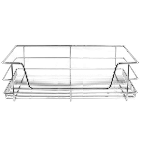 Kitchen Cabinet Pull Out Wire Baskets 5 Pull Out Kitchen Wire Baskets Slide Out Storage Cupboard Drawer Larder 60cm Ebay