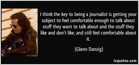 how to feel comfortable glenn danzig quotes quotesgram