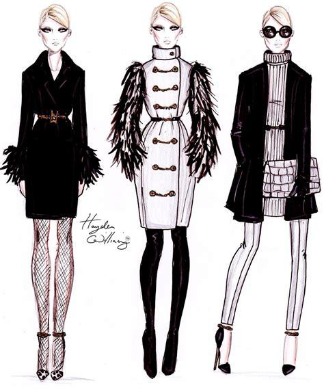 fashion illustration winter wear hayden williams paulyna