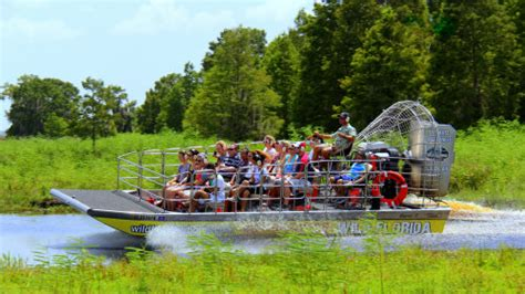 fan boat ride orlando airboat ride with transportation orlando expedia