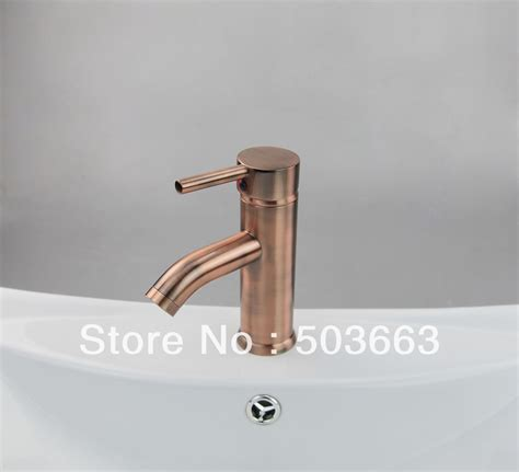 copper bathroom sink faucets free shipping antique copper vessel sink faucet sink mixer