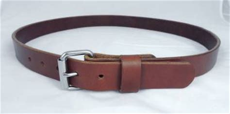 Handmade Leather Tool Belt - 125 1 1 4 quot heavy duty leather work tool holster belt amish