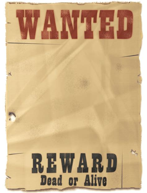 wanted dead or alive poster template free wanted dead or alive quotes quotesgram