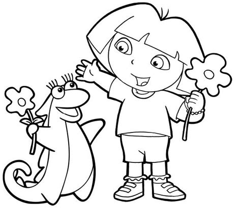 coloring pages of dora and friends 166 best images about dora coloring pages on pinterest